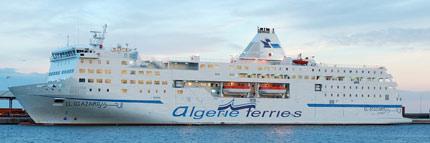 bateau algerie billet