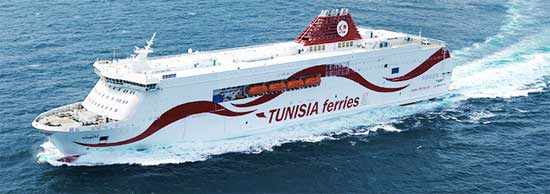 Billet bateau CTN Tunisia Ferries