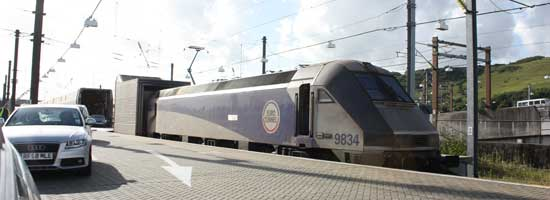Billet Train Eurotunnel