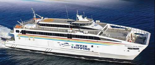 Billet bateau Inter Shipping