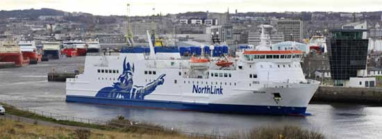 Billet bateau Northlink Ferries