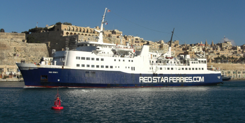 Billet bateau Red Star Ferries