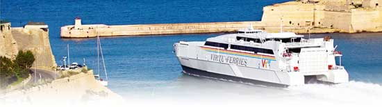 Billet bateau Virtu Ferries